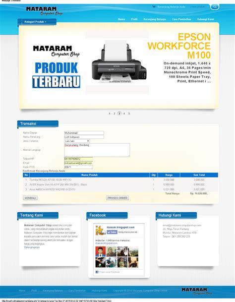 al fatih shop sistem penjualan online sistem informasi toko online dengan php dan mysql studi