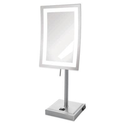 bed bath and beyond lighted makeup mirror buy lighted magnification mirrors from bed bath beyond