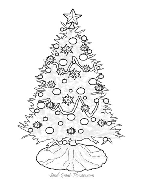 christmas tree pictures to print tree coloring pages free printable pictures coloring pages for
