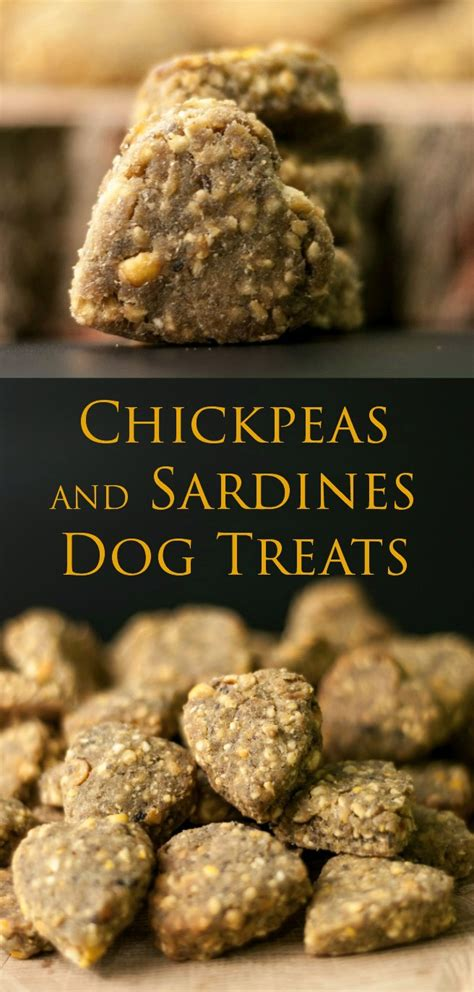 sardines for dogs chickpeas and sardines treats bark time