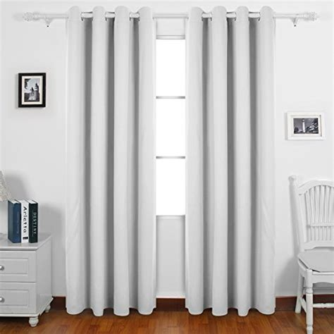 Thermal Kitchen Curtains Save 50 Deconovo Soft Solid Thermal Insulated Blackout Curtains Eyelet Curtains For