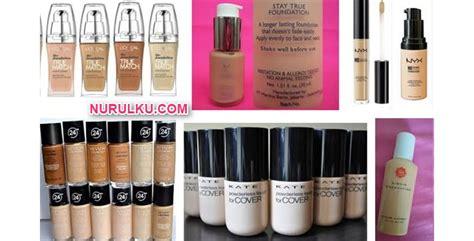 Harga Makeup Merk Clinique 16 foundation yang bagus murah tahan lama bagi kulit wajah