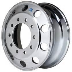 Truck Wheels 22 5 X 8 25 883671 Alcoa 22 5 X 8 25 Polished Aluminum Front Wheel