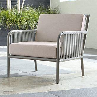 sale outdoor patio lounge furniture crate  barrel