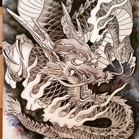 tattoo sketch process drawing dragon process so much fun drawing