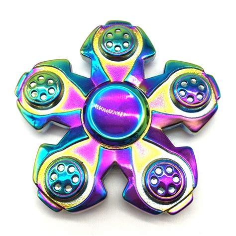 Fidget Spinner Tengkorak 3 Side Spinner Fidget Toys Berkualitas mr northjoe 5 side spinner fidget edc spinner colorful free shipping dealextreme