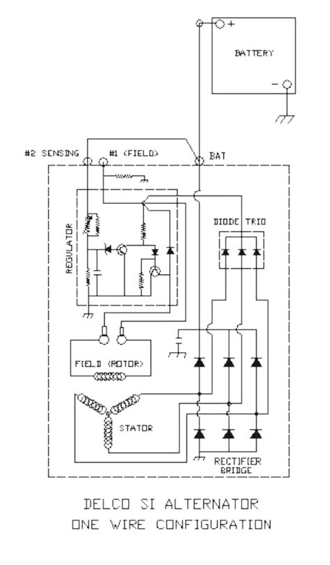 gm 1 wire alternator wiring diagram wiring diagram schemes