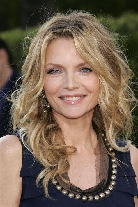 actresses in their 40s long hair michelle pfeiffer hairstyle makeup dresses shoes and