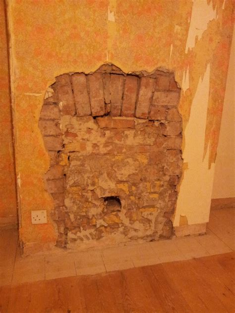 How To Repair Fireplace Brick by Repair Brick Arch Or Fit Lintel And Knock Out Fireplace