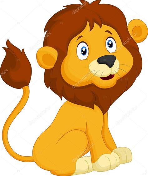 imagenes de leones animados bebes dibujos animados le 243 n sentado archivo im 225 genes