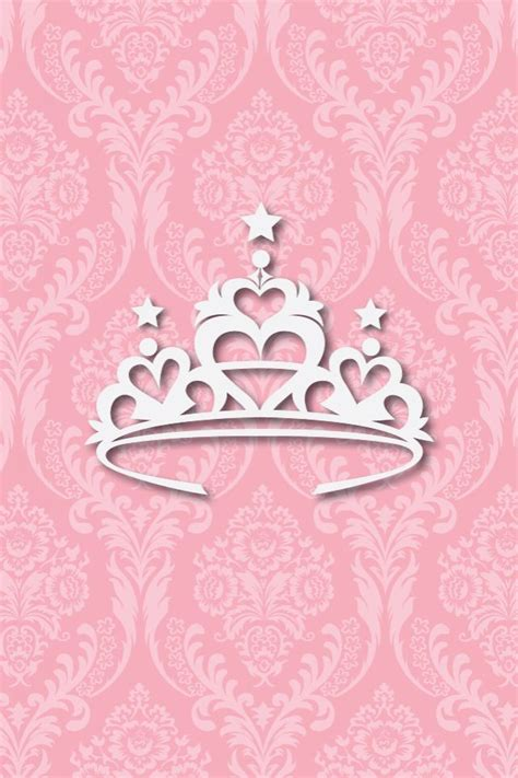 pink queen wallpaper princess crown cute phone wallpaper pinterest