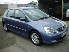 Used Honda Civic Hatchback Used Honda Civic 2004 Petrol 1 4i Se 5dr Hatchback Blue