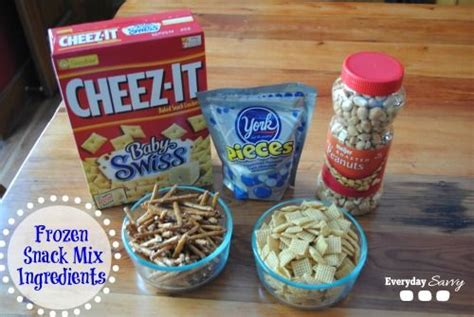 themed party weekends disney frozen themed food sven s snack mix disney