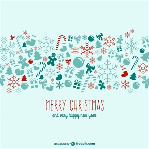 merry christmas wallpaper vector happy new year merry christmas greeting card free vector