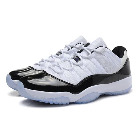 cheap jordans shoes for air 11 retro concord low white black cheap