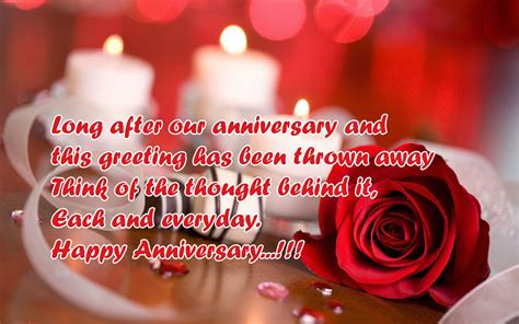 Wedding Anniversary Wishes To A by Anniversary Wishes For From Husband Poetry Likers