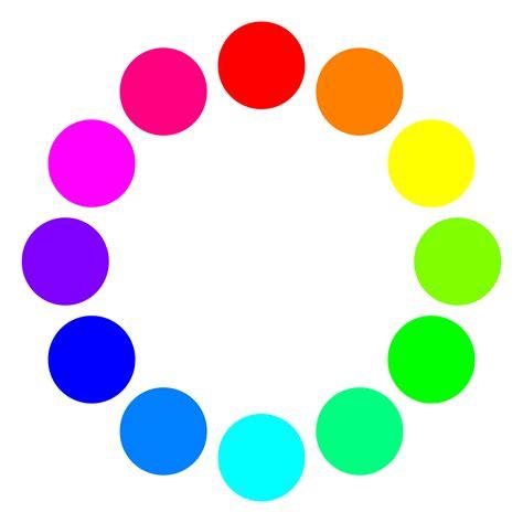 color circles clipart 12 color circles