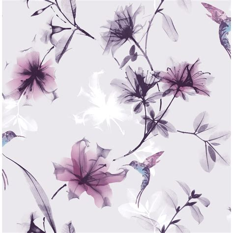 design image superfresco easy wallpaper x ray floral purple at wilko com