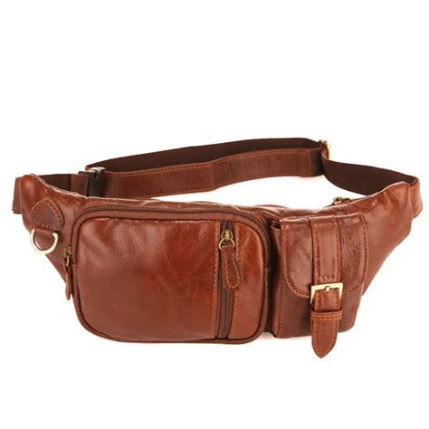 western classics 50 pack 12 7057b classic vintage leather s waist bag pack