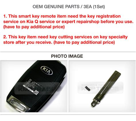 Oem Kia Parts Oem Keyless Entry Fob Folding Key Remote Blank For