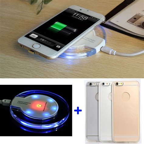 qi wireless charging case receiver  apple iphone   wireless charger kit  iphone