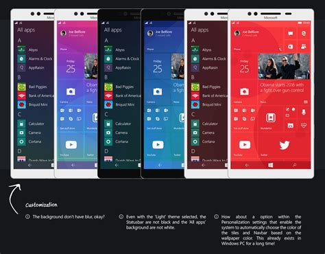 windows mobile this design makes windows 10 mobile absolutely beautiful