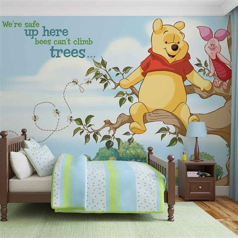 Wall Sticker Wall Stiker Wallsticker Dinding 152 Pooh Family disney winnie pooh piglet wall paper mural buy at europosters