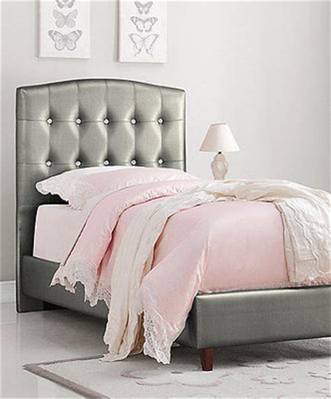 princess headboard twin silver girl s princess twin bed upholstered headboard