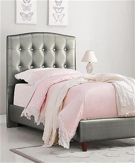 princess twin headboard silver girl s princess twin bed upholstered headboard
