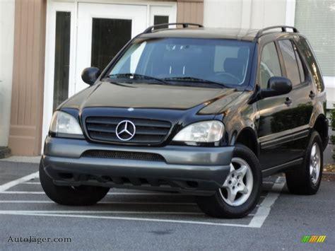 1999 mercedes ml 320 1999 mercedes ml 320 4matic in black 066981 auto