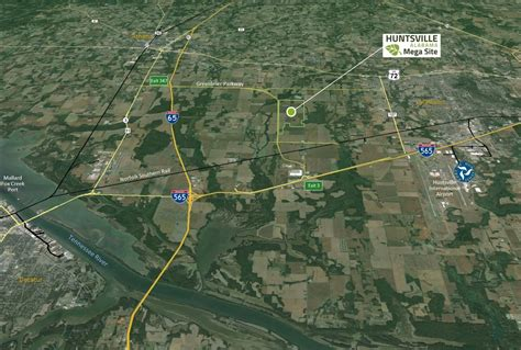 major huntsville economic development announcement greenbrier land  official tva megasite