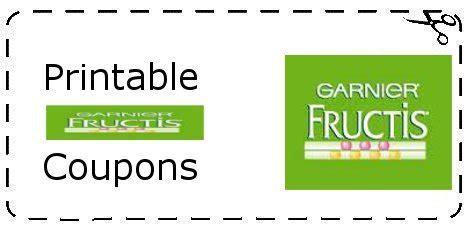 Garnier Printable Coupons