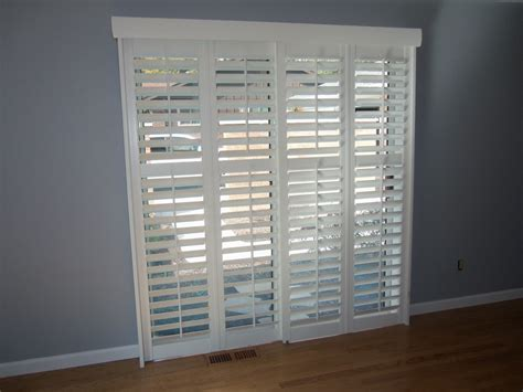 Sliding Bypass Shutters For Patio Doors Sliding Doors Bypass Shutters For Patio Doors