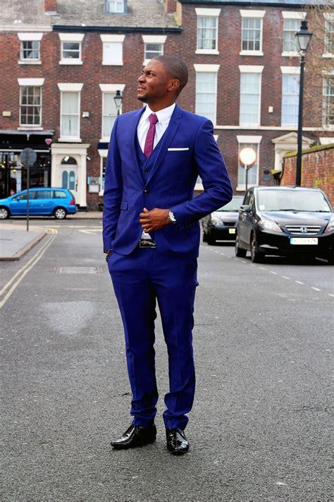 purple blue suit dress yy