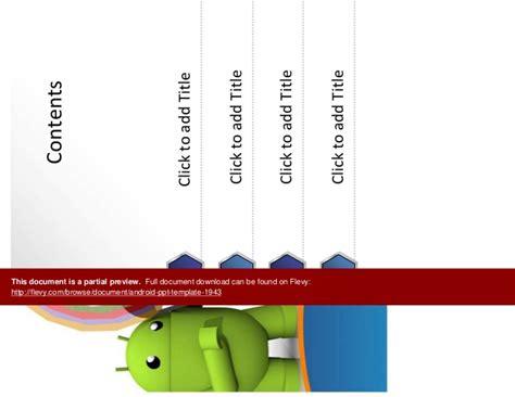 Android Ppt Template Android Ppt Template