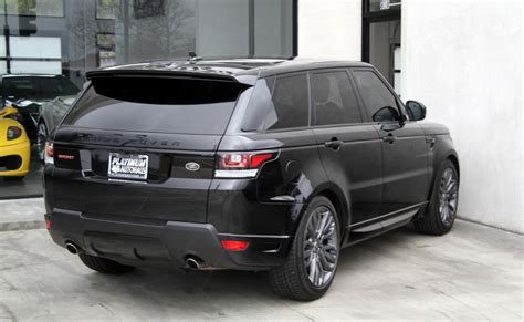 Range Rover Limited Editions by 2016 Land Rover Range Rover Sport Hst Limited Edition