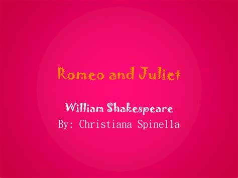 romeo and juliet powerpoint ppt romeo and juliet powerpoint presentation id 6317902