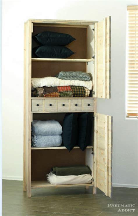 How To Build A Linen Closet by How To Make A Linen Closet Winda 7 Furniture