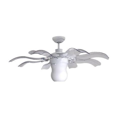 Vento Fiore 42 In White Retractable Ceiling Fan G 00029 Vento Ceiling Fans