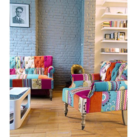 poltrona colorata poltrona colorata quot patchwork quot divani e poltrone provenzali