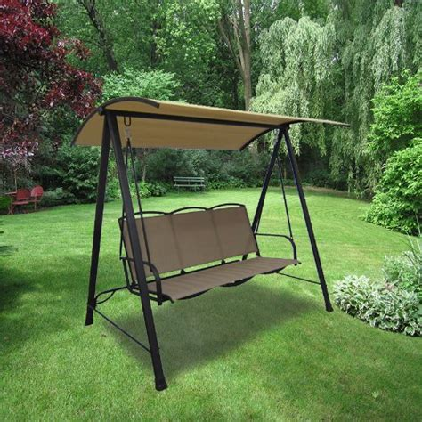 outdoor swing canopy cover top replacement 3 person sling swing replacement canopy top cover