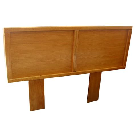 Contemporary Light Oak Panel Headboard Bfca314hbfl