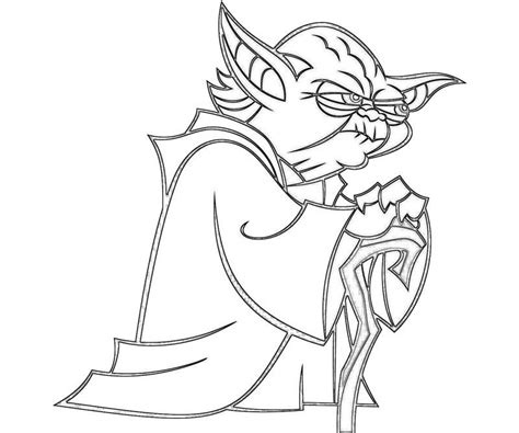 printable coloring pages of yoda yoda coloring pages az coloring pages