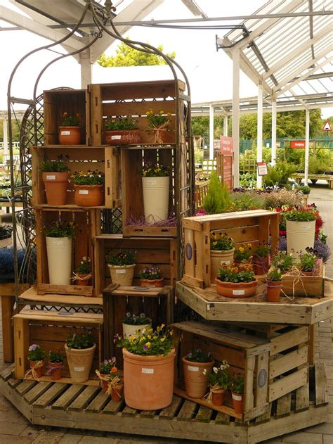 Garden Display Ideas Best 25 Garden Centre Ideas On Pinterest Planters Garden Centre A Flower And Flower Pot Crafts