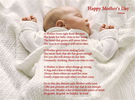 day peom 30 touching mothers day poems from