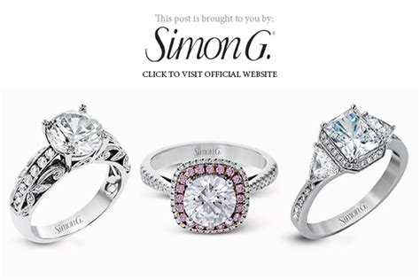 Wedding Banner Ring by Simon G Engagement Ring Styles For Every Wedding