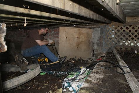 crawlspace excavation basement services 911