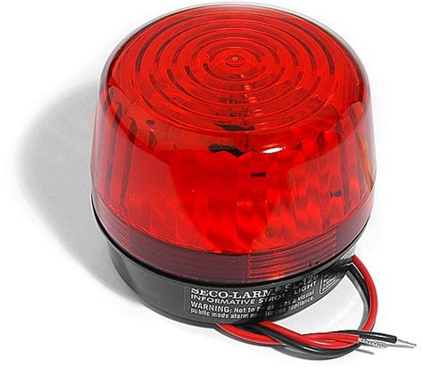 seco larm sl 126q r security strobe light