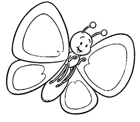 preschool coloring pages butterfly coloring pages spring coloring pages little butterfly
