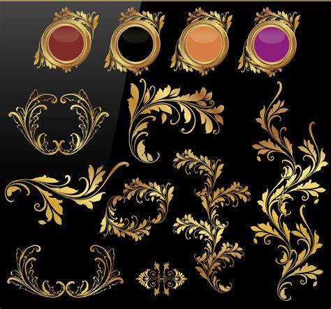 design gold free vintage gold design free vector art